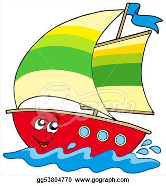 image royalty free download Sailboat panda free images. Yacht clipart cartoon
