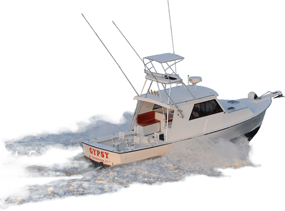 image freeuse stock Yacht clipart charter boat. Fishing on the waves