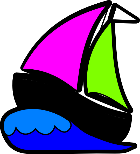 clipart transparent Yacht clipart colorful boat. Buoyyz clip art at