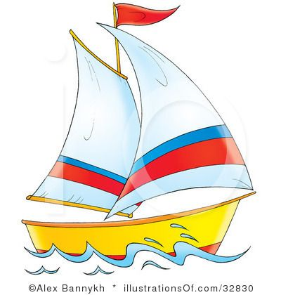 svg library download Yacht clipart colorful boat. Sail boatclip art free