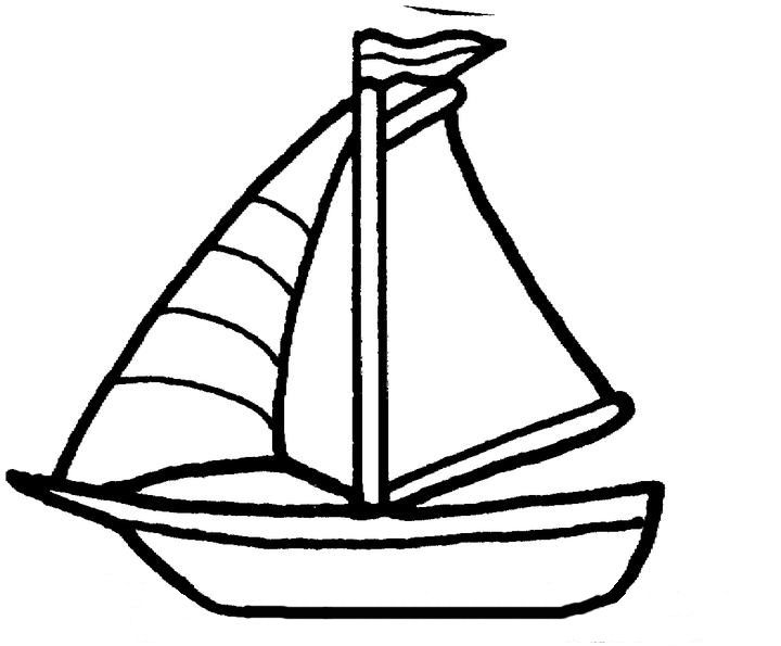 graphic stock Sailboat colouring page patterns. Yacht clipart coloring