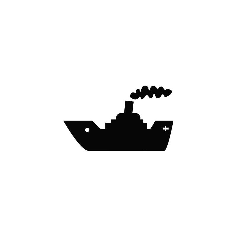 svg royalty free stock Yacht clipart cruise ship. Cargo vessel icon