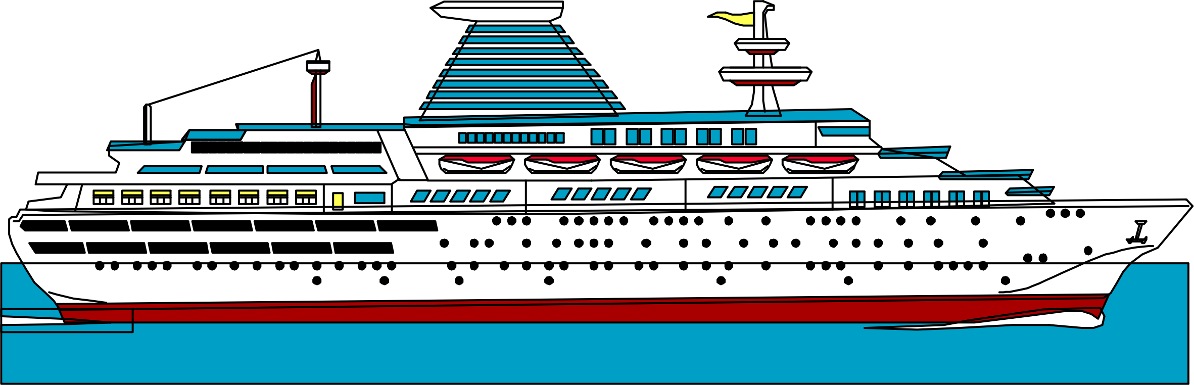freeuse stock Yacht clipart cruise ship. Icons png free and