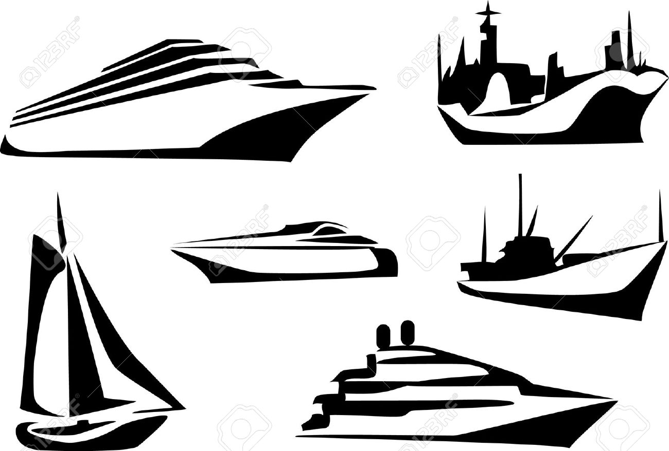 clip royalty free library Cliparts free download best. Yacht clipart cruiser