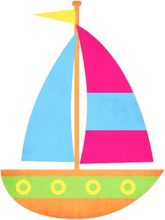 clip art royalty free  best cartoon boats. Yacht clipart cute