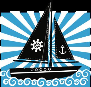 jpg royalty free Yacht clipart dinghy. Sailboat sailing ship free