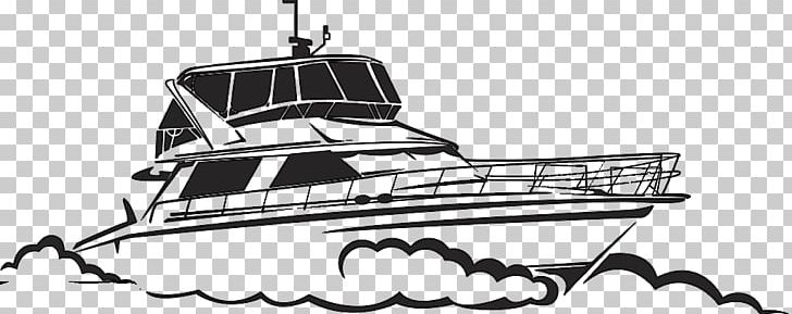 jpg library stock Yacht clipart drawing. Boat illustration png black
