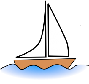 image royalty free library Boats simple transparent free. Yacht clipart easy