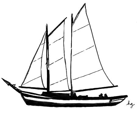 transparent stock Simple sailboat drawing panda. Yacht clipart easy