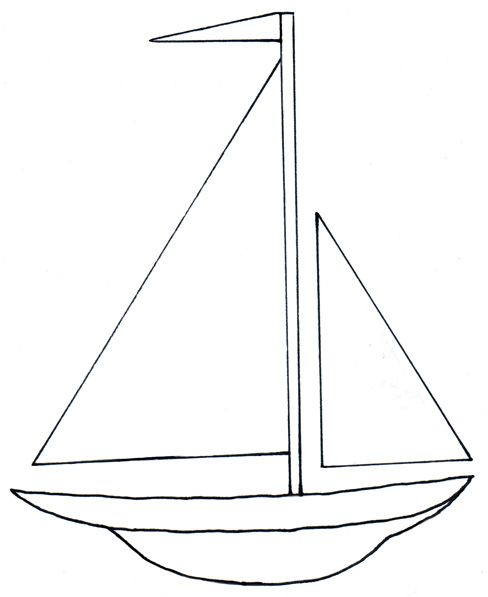 image royalty free library Yacht clipart easy. Boats simple transparent free
