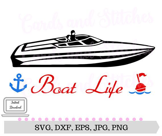 graphic freeuse stock Pin on products . Yacht clipart fast boat