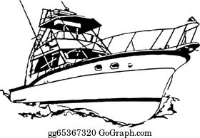 vector transparent download Clip art royalty free. Yacht clipart fishing boat