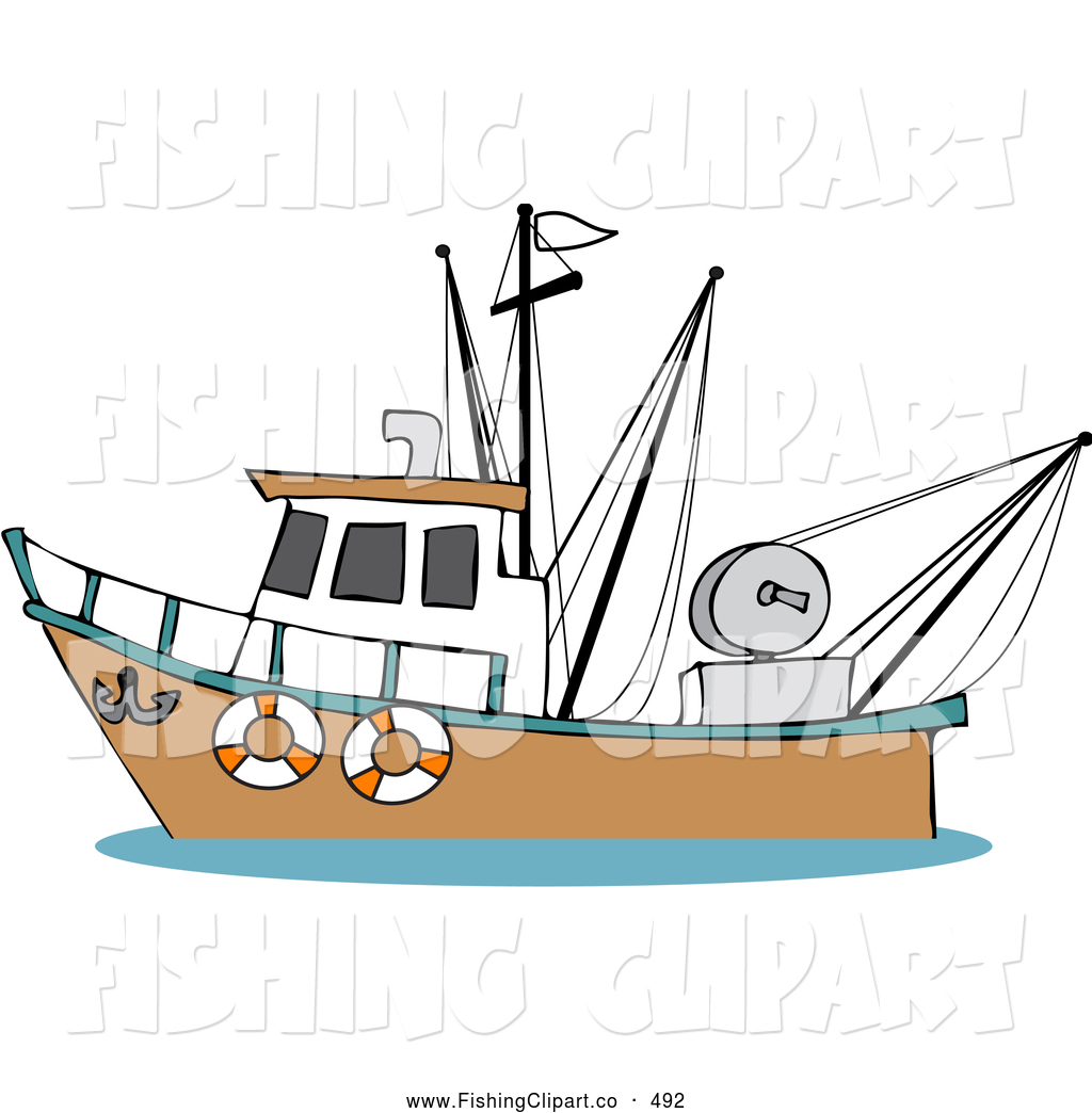 svg stock Yacht clipart fishing ocean. Boat black white free
