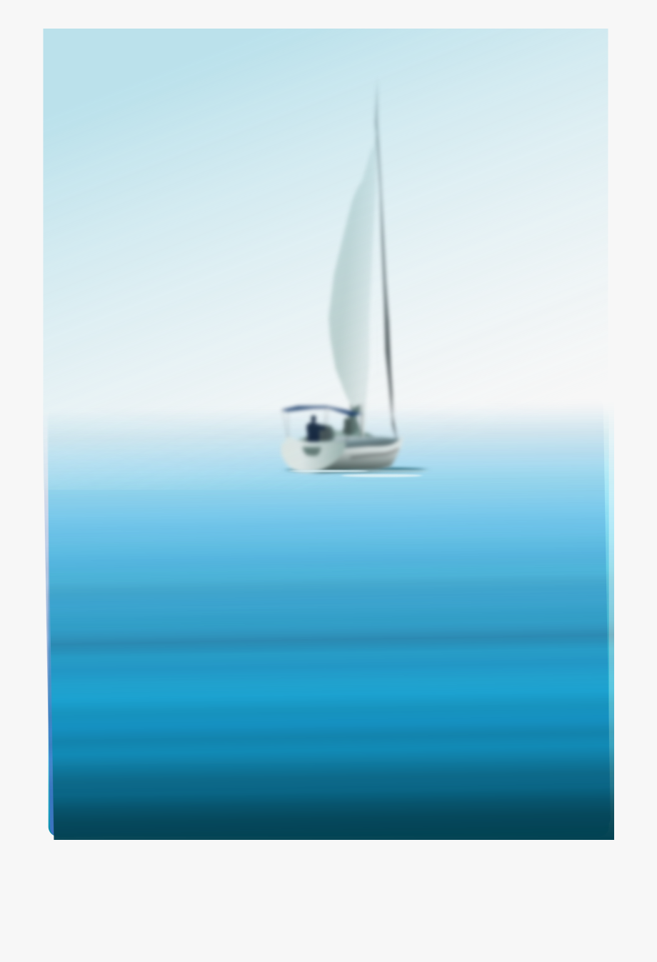 svg royalty free Png freeuse large boat. Yacht clipart fishing ocean
