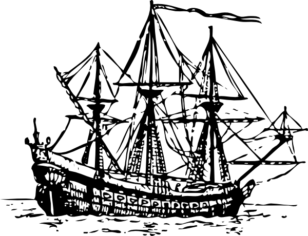 clipart royalty free stock Sail clipart fleet ship