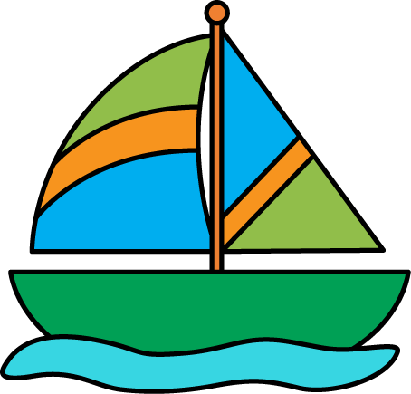 png freeuse stock Yacht clipart green boat. Fresh sailboat clip art