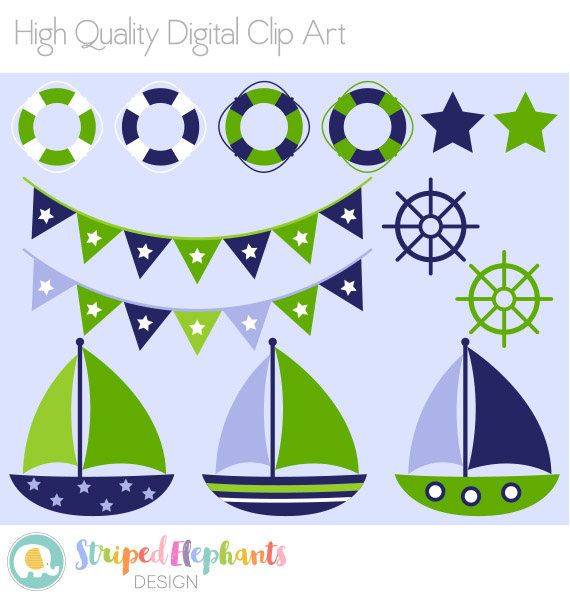 vector free library Nautical clip art navy. Yacht clipart green boat