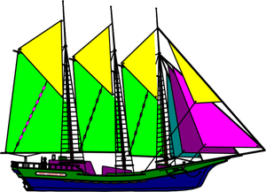clip art black and white library Sail boat drawing at. Yacht clipart kensuke's kingdom