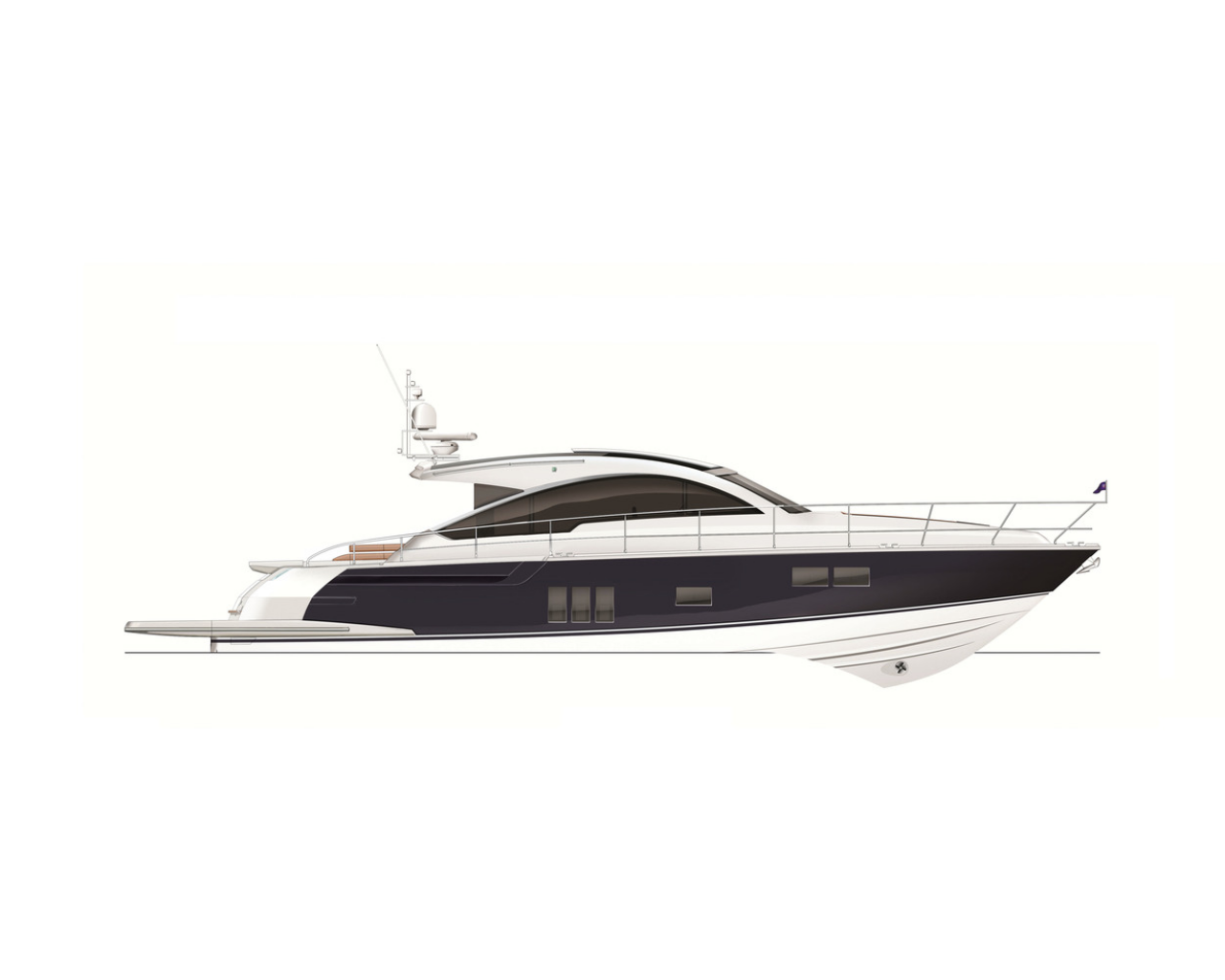 graphic library Yacht clipart large boat. Fairline gt consulyachts layout