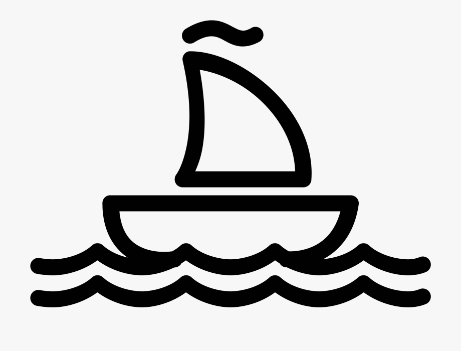 clipart transparent download Yacht clipart little boat. Sailboat white icon png