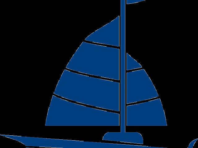 jpg black and white Sailing boat fishing free. Yacht clipart logo