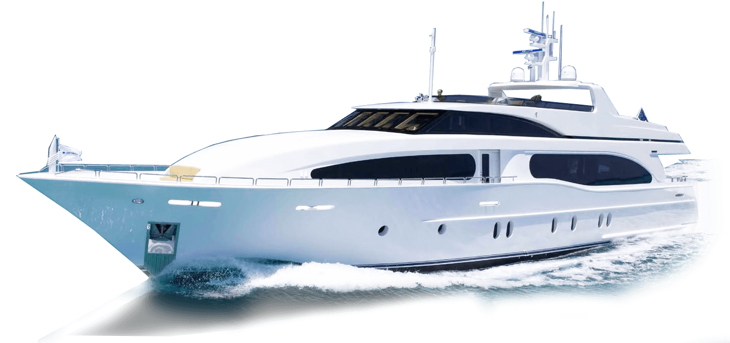 graphic freeuse download Blue bay marine charter. Yacht clipart luxury