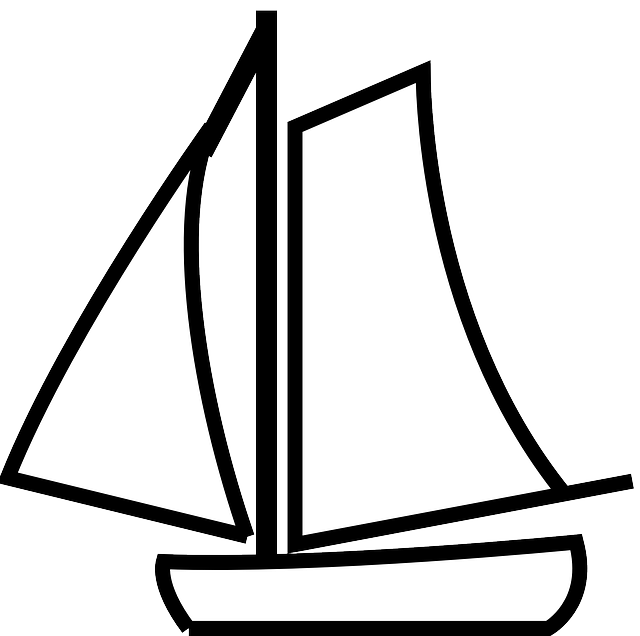 clip art freeuse stock Yacht clipart maritime. Free image on pixabay