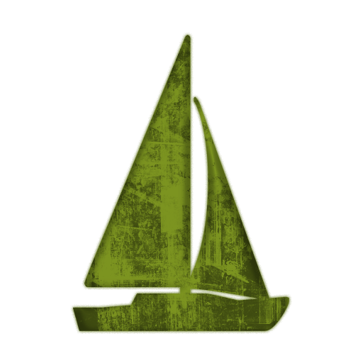 jpg Sailing boat green pencil. Yacht clipart mast