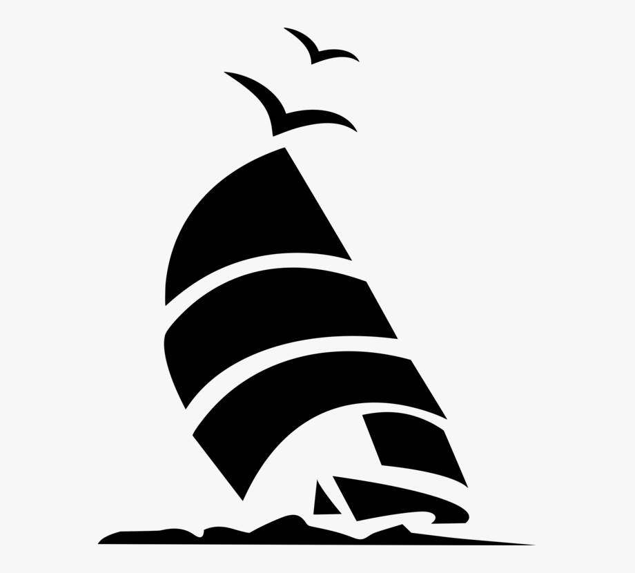image black and white stock Sailboat ship free . Yacht clipart mast