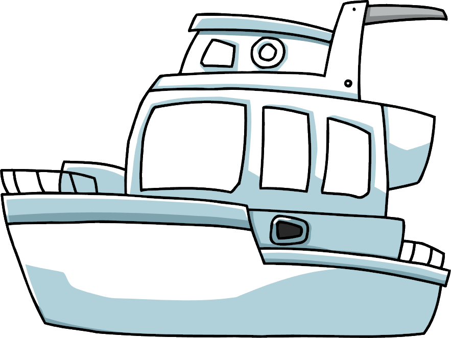 picture freeuse download Image png scribblenauts wiki. Yacht clipart motor