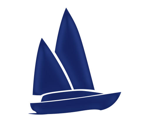 vector free stock Insurance topsail marine motorboat. Yacht clipart offshore boat