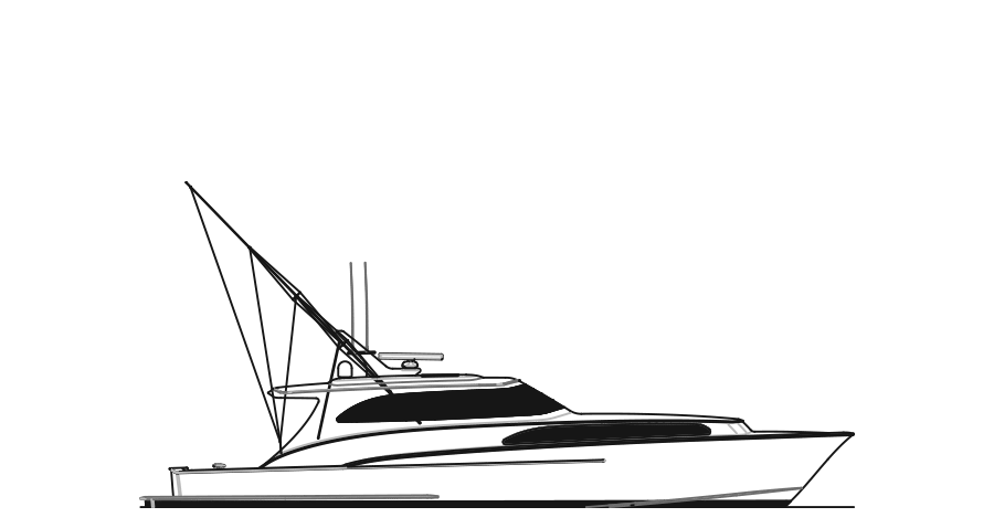 banner freeuse download Yacht clipart offshore boat. Custom sportfish yachts and