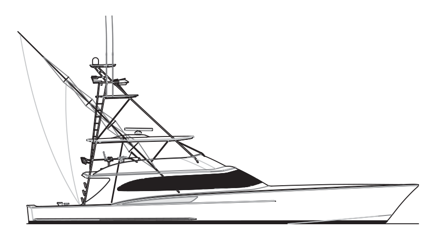 clip stock Custom sportfish yachts and. Yacht clipart offshore boat