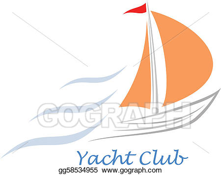 royalty free library X free clip art. Yacht clipart orange boat