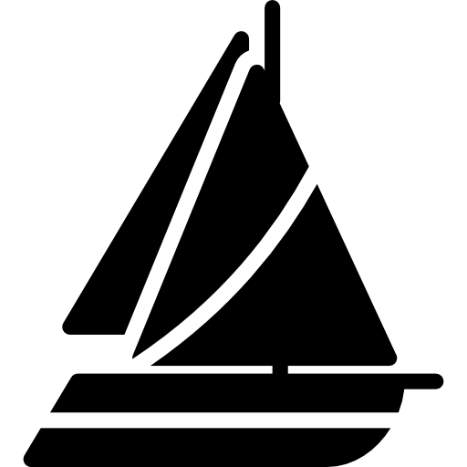 png black and white stock Sailing icon page png. Yacht clipart party boat