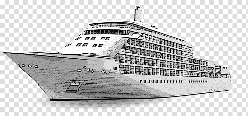 svg free Yacht clipart passenger ship. Cruise drawing cartoon transparent