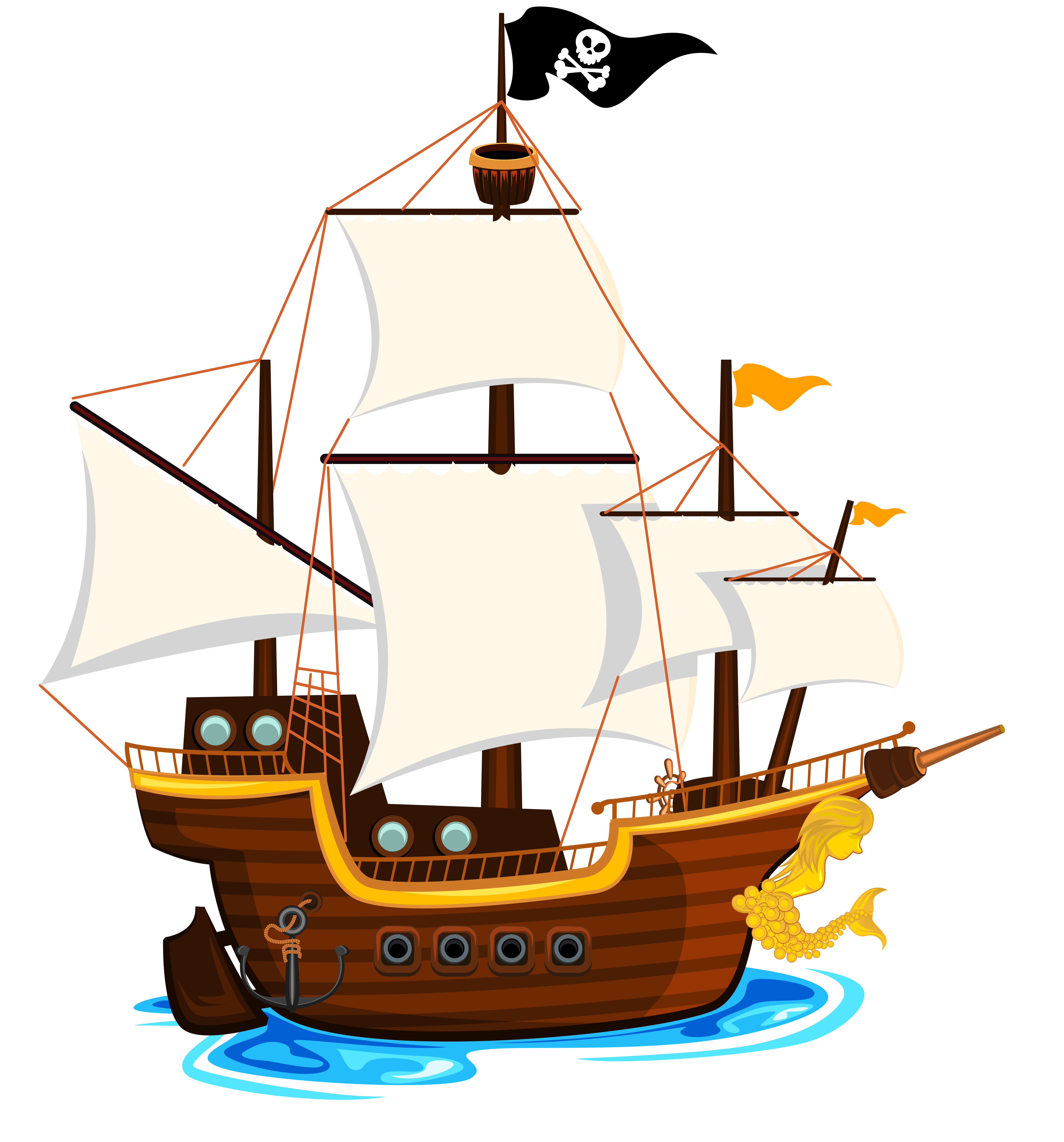 transparent library Yacht clipart police boat.  e d ea