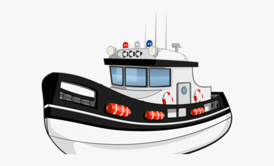 jpg free library Yacht clipart police boat. Fishing transport