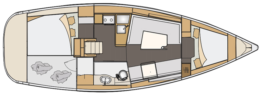 clip royalty free download Yacht clipart powerboat. Elan impression new used