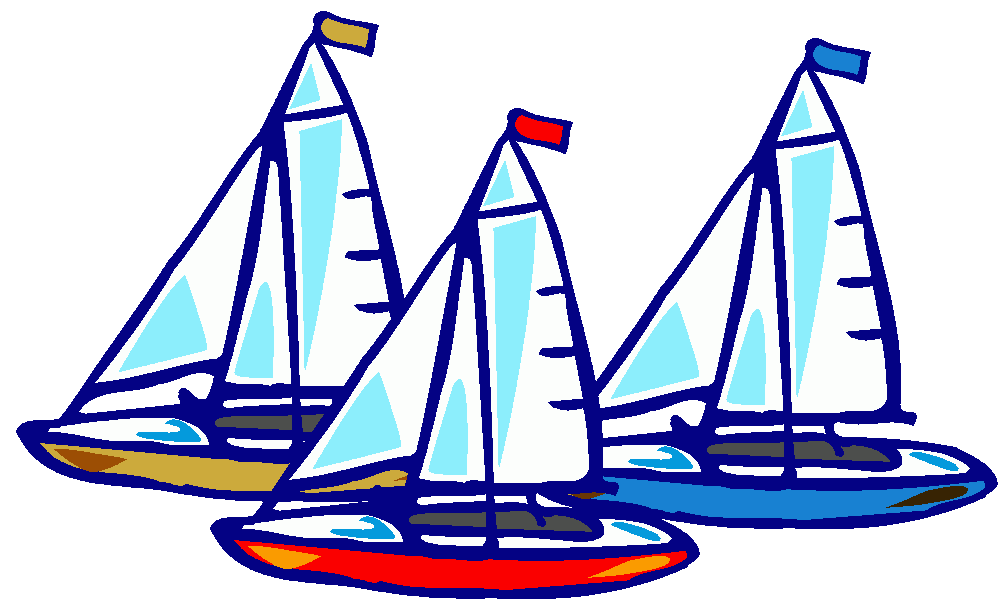 freeuse download Yacht racing clipart