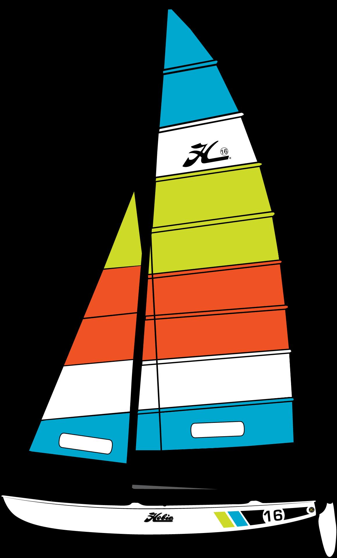 clip art freeuse download Hobie catamaran fiberglass sailboats. Yacht clipart racing boat