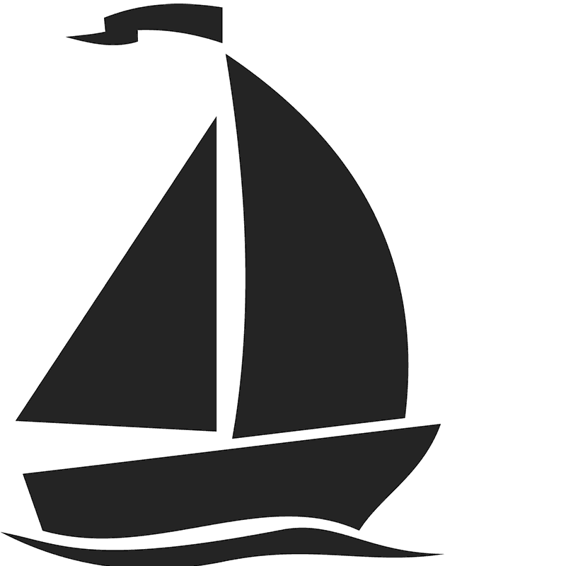 vector transparent download Fastnet race sailboat ship. Yacht clipart racing boat