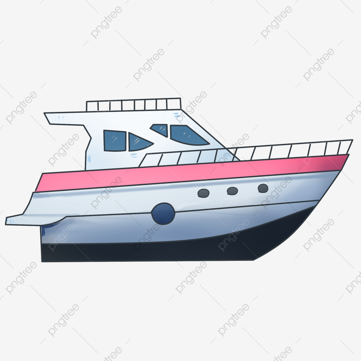 graphic free download A boat illustration sea. Yacht clipart river cruise