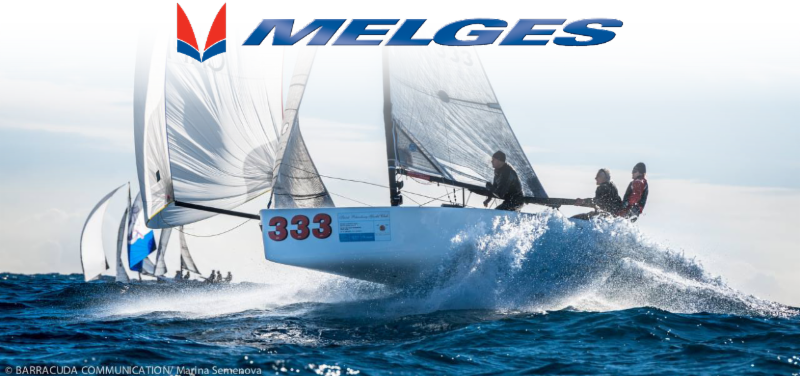jpg black and white stock Yacht clipart sailboat race. Inside melges news from