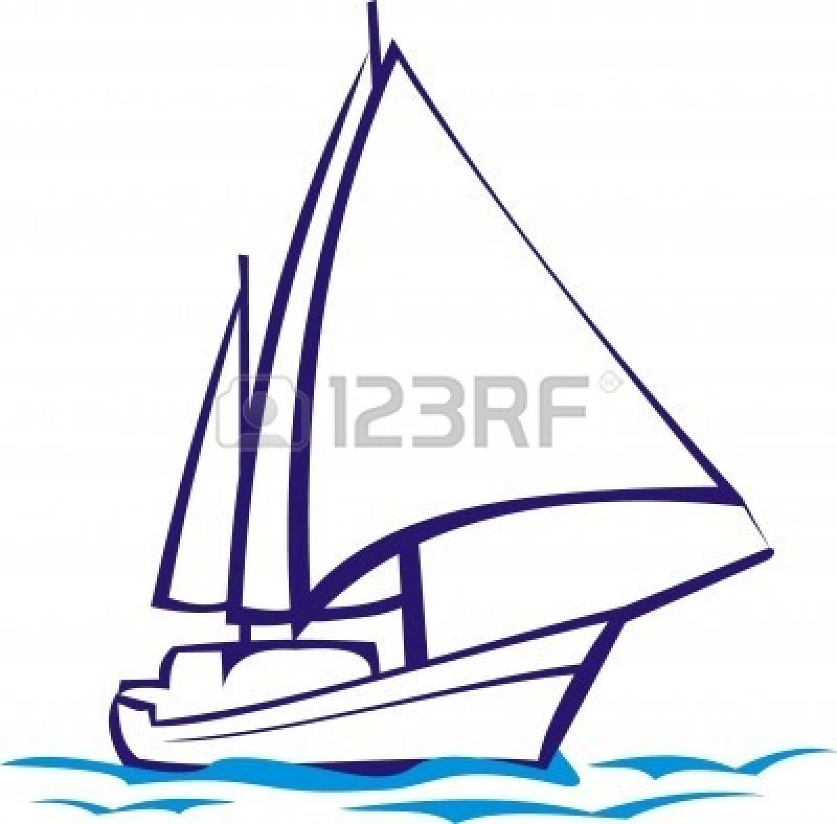 picture free library Panda free images . Yacht clipart sailboat race