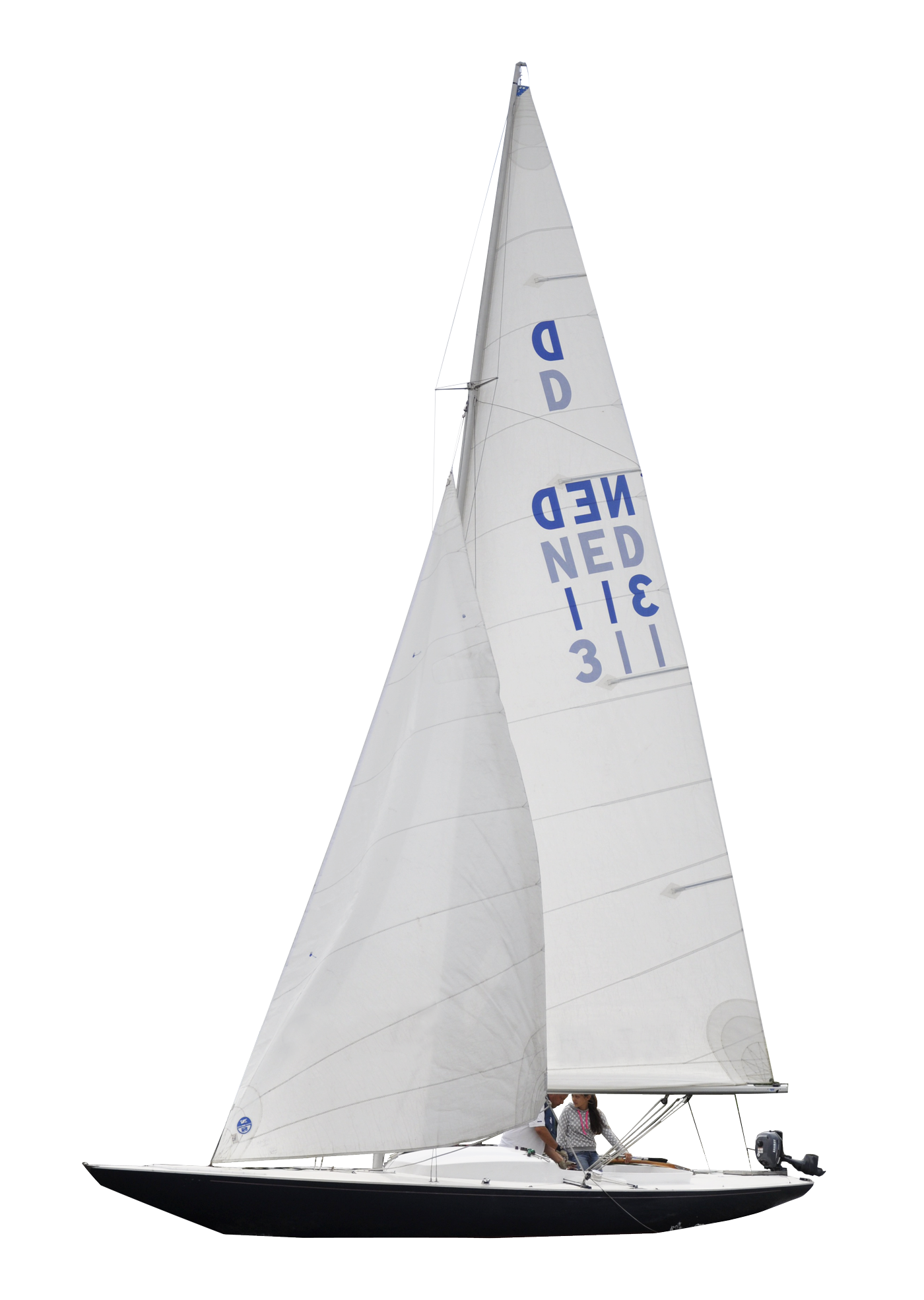 vector transparent Yacht clipart sailing. Pngpix com sailboat png