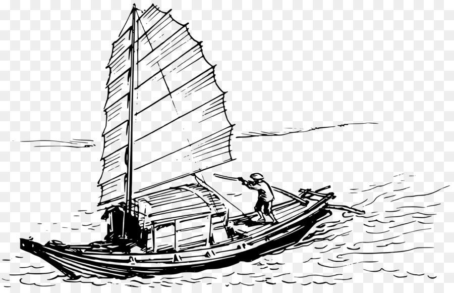 clipart freeuse library Yacht clipart sampan. Cat background boat ship