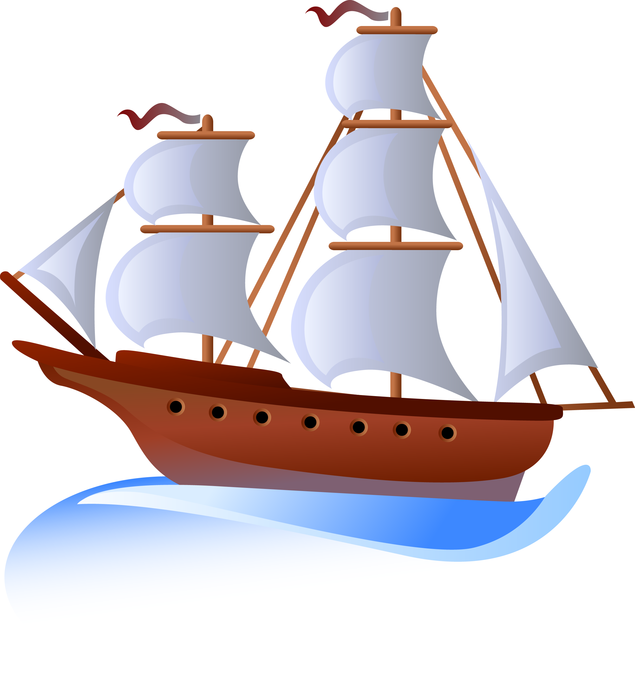 clip Sailing transprent png free. Yacht clipart ship