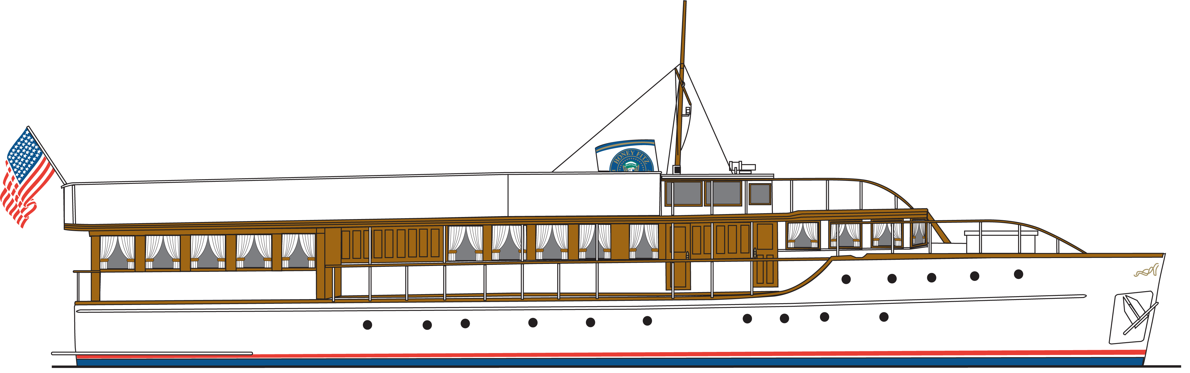 banner library library Honeyfitz presidential clipground keeping. Yacht clipart ship