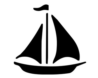 image royalty free Yacht clipart silhouette. Sailboat free download best